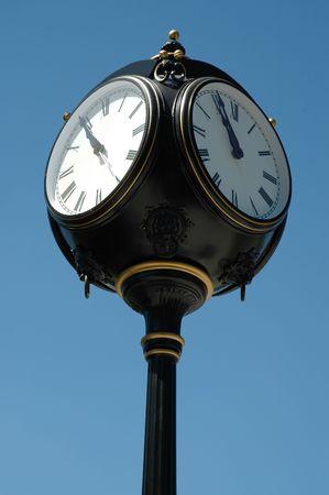 carson city: Ornate clock, Carson City, Nevada