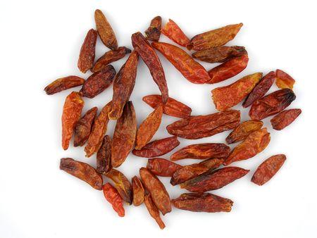 birdseye: Dried South African birdseye chili peppers