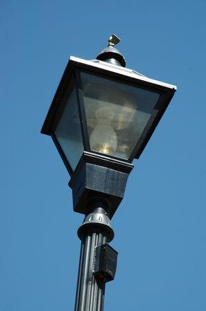 carson city: Decorative streetlamp, Carson City, Nevada