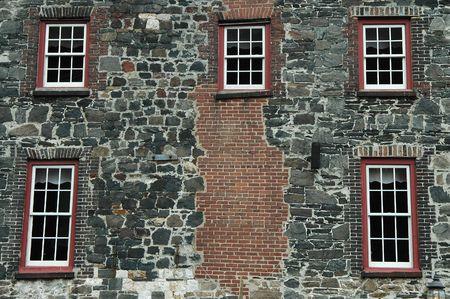 複合壁 & windows、ジョージア州サバンナ川通り
