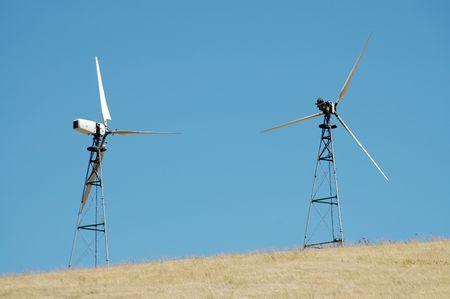 livermore: Wind turbines, Altamont Pass, California