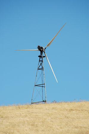 livermore: Wind turbine, Altamont Pass, California