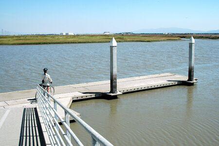 alto: Boat launch, Baylands Nature Preserve, Palo Alto, California