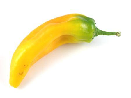 heirloom: Yellow Italian heirloom pepper Stock Photo