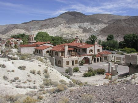 Scottys Castle in Death Valley National Park, California