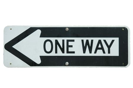 One Way signe  Banque d'images - 228961