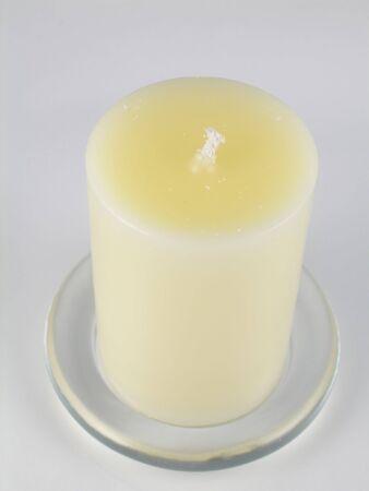 unlit: New, unlit candle