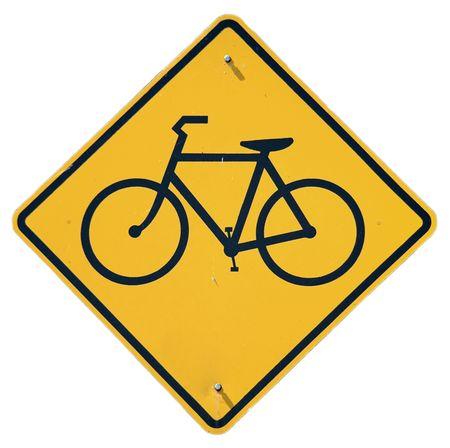 Bike Crossing graphic Stock Photo