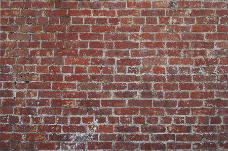 redbrick: Brick wall, Auburn, California