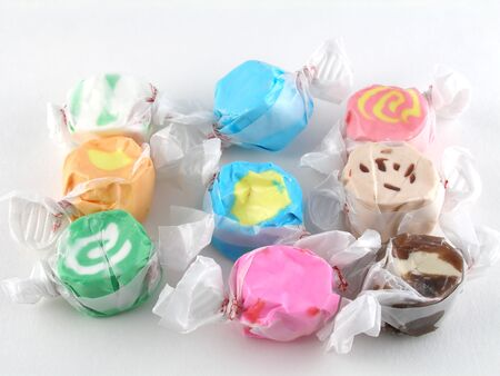 taffy: Salt water taffy Stock Photo