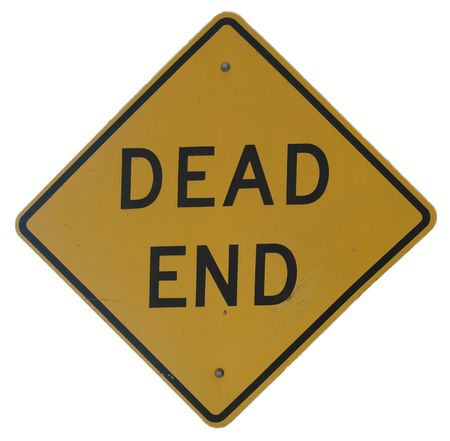 Dead End sign Stock Photo - 245414