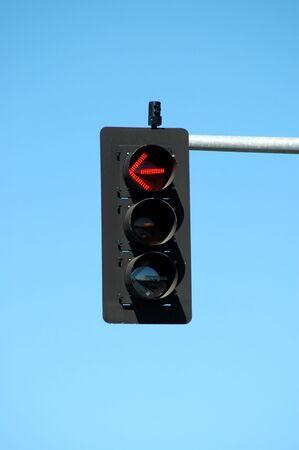 Traffic light - left turn