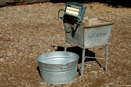 19th century washing machine photo