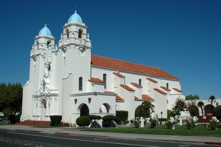 St. Michaels Church, Livermore, California Stock Photo