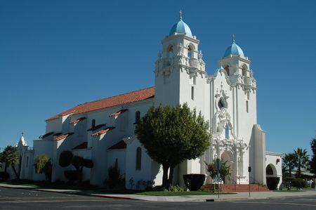 livermore: St. Michaels Church, Livermore, California Stock Photo