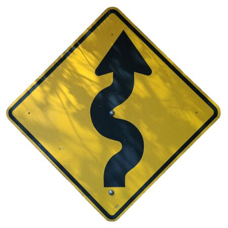 Winding Road Ahead graphic photo