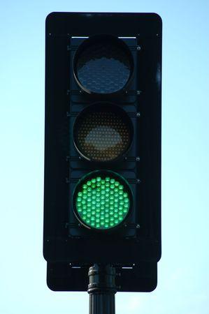 Green traffic light Reklamní fotografie