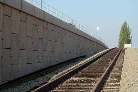 carlos: Commuter rail siding, San Carlos, California