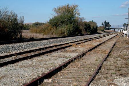 constitutionality: Railroad tracks near San Juan Bautista, California