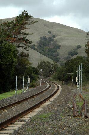 constitutionality: Railroad curve, Fremont, California