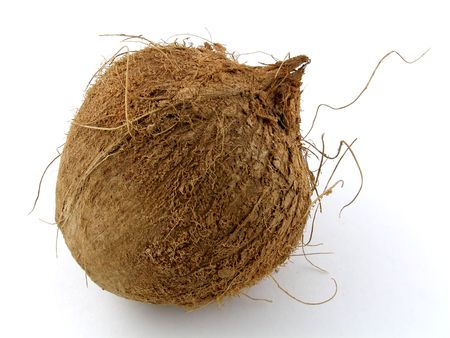 Whole coconut photo