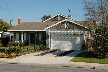 southern california: Suburban home, Newport Beach, California