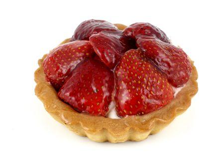 Strawberry tart Reklamní fotografie