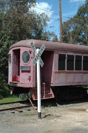 Old railcar, Western Railway Museum, Suisun City, California