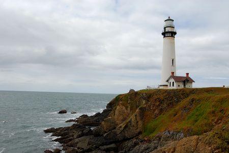 Pigeon Point Lighthouse, Pescadero, California Standard-Bild