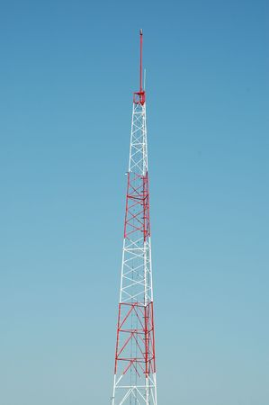 Radio transmission tower, City of Orange, California photo