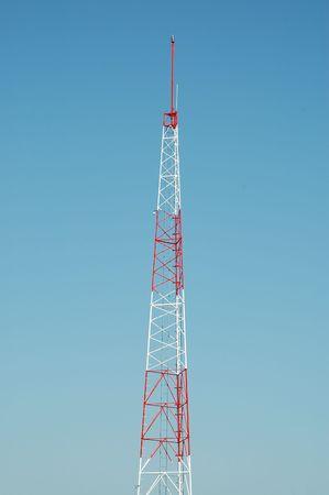 Radio transmission tower, City of Orange, California