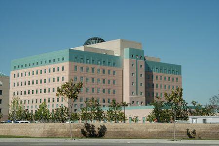 County courthouse, City of Orange, California