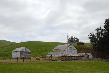 Barn and shed, Sonoma County, California