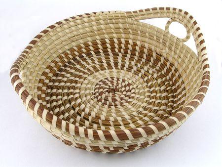 weavers: Seagrass basket from Charleston, South Carolina