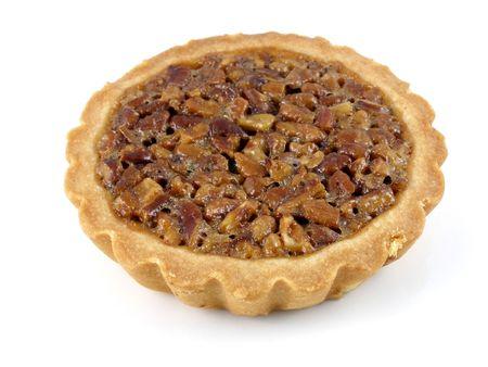 pecan pie: Pecan pie tarta  Foto de archivo