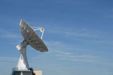 Radio communication dish, Sunnyvale, California photo