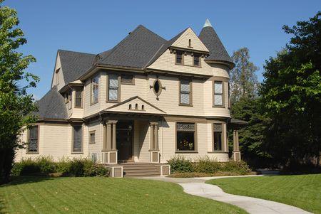 jose: Victorian home, San Jose, California Stock Photo