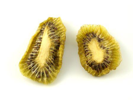 kiwi fruta: Kiwis rodajas secas