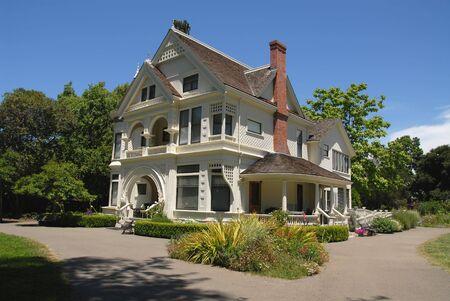 19th century farmhouse, Patterson Ranch, Ardenwood Historic Farm, Fremont, California Stock Photo - 429048