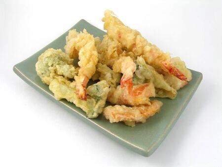 Shrimp & vegetable tempura Stock Photo - 443246