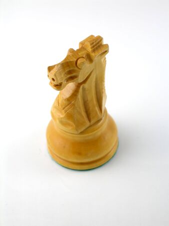 Staunton chess piece - knight photo