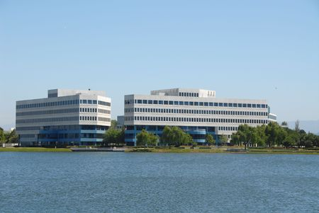 shores: Seaside corporate offices, Redwood Shores, California