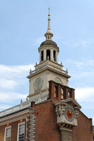 Independence Hall tower, Philadelphia, Pennsylvania