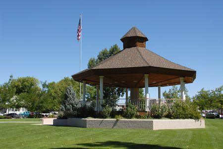 carson city: Bandstand, Minden, Nevada