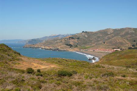 ポイント ボニータ、マリン ヘッドランズ、カリフォルニアからの眺め
