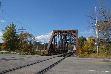 trestle: Railroad trestle, Rochester, New York