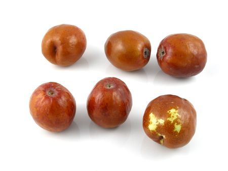 asian produce: Jujubes or Chinese dates
