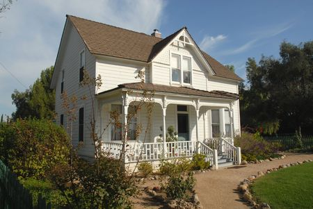 ranch house: Old ranch house, Simi Valley, California