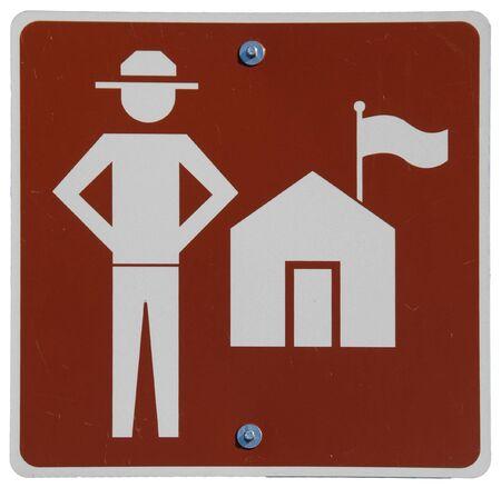 Ranger Station Ahead sign