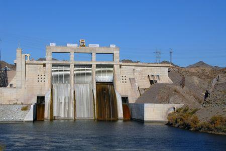Glen Canyon Dam on the Colorado River, Page, Arizona Reklamní fotografie